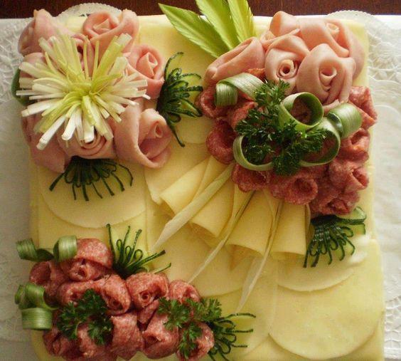 Cold Cut Bouquets