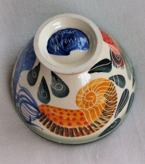 Pru Green, Wivenhoe pottery.
