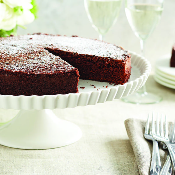 Chocolate olive oil cake, Olive oil cake and Oil cake on Pinterest