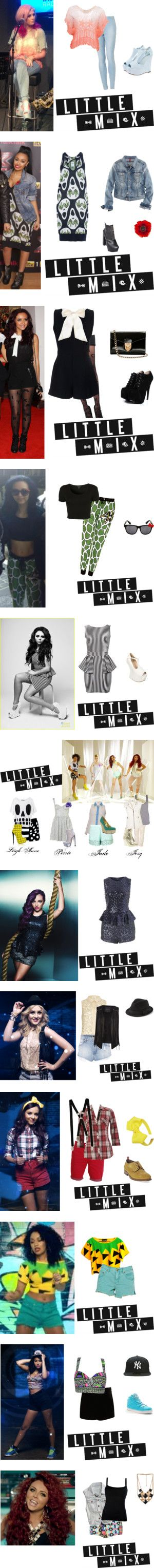 """""""Little Mix:)"""" by dream-rose ❤ liked on Polyvore"""