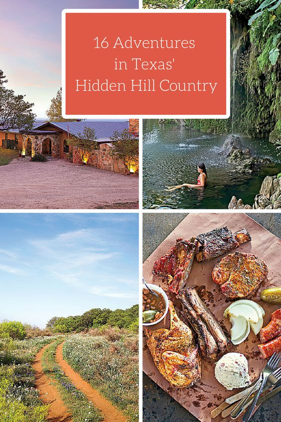 16 Adventures in Texas' Hidden Hill Country   Here's our guide to off-the-beaten-path adventures found deep in the heart of Texas.