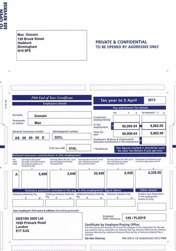 Order your Lost or Damage #Payslips Online P60 Have you lost your - payment slips
