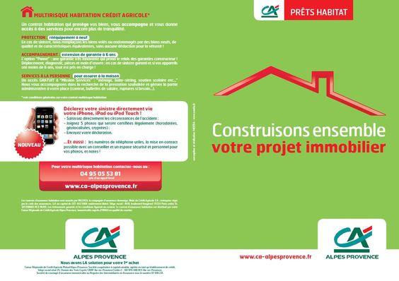 Leaflet A5 Crédit Agricole