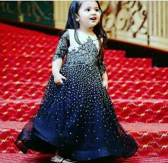Blue Baby Wedding Dress In Pakistan Birthday Girl Dress Frocks For Girls Baby Wedding Outfit