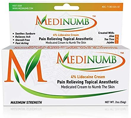 Medinumb Lidocaine Numbing Cream