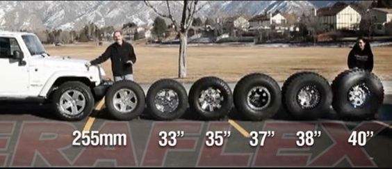 General Jeep Tire Sizes Jeep Wrangler Tj Jeep Wrangler Jeep Accessories
