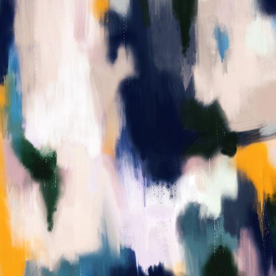 Josie6x6-24x24in Large Abstract Fine Art par ParimaCreativeStudio