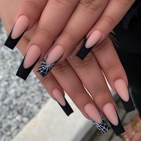 diseños de uñas para halloween 2021