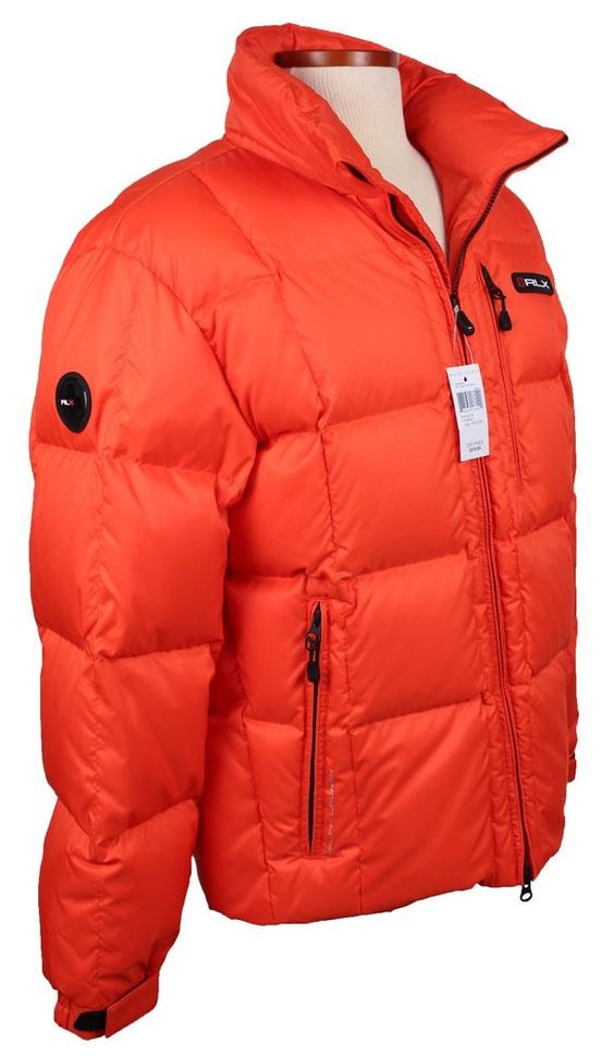 NEW RLX Polo Ralph Lauren Mens Puffer Jacket Size M L Down Hooded Ski Coat NWT #