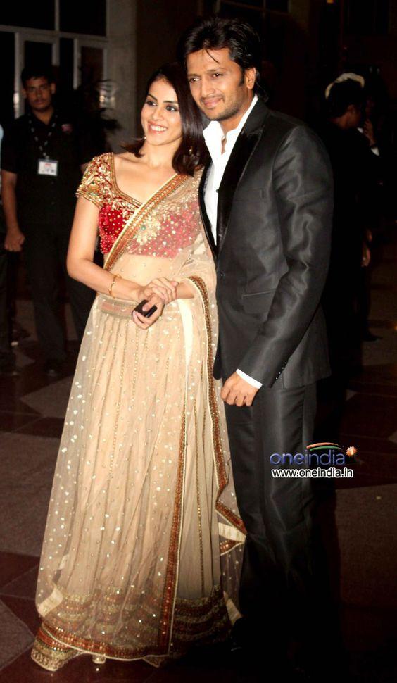 Newly Married Genelia D'Souza and Ritesh Deshmukh at Esha ...