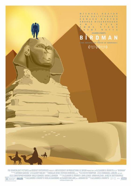فيلم Birdman ي عرض حاليا في دور العرض المصرية برجاء مراجعة مواعيد الحفلات مع دور العرض القاهرة جالاكسي مول العرب بـ 6 Michael Keaton Birdman Movie Posters