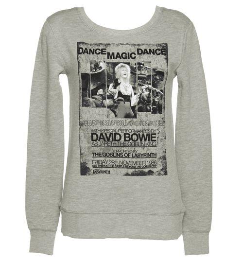 Ladies Dance Magic Dance Labyrinth Poster Sweater