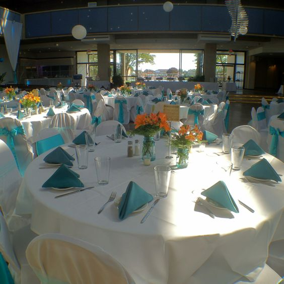 Perfect day for a wedding... at Becket's Restaurant. Oshkosh, WI.