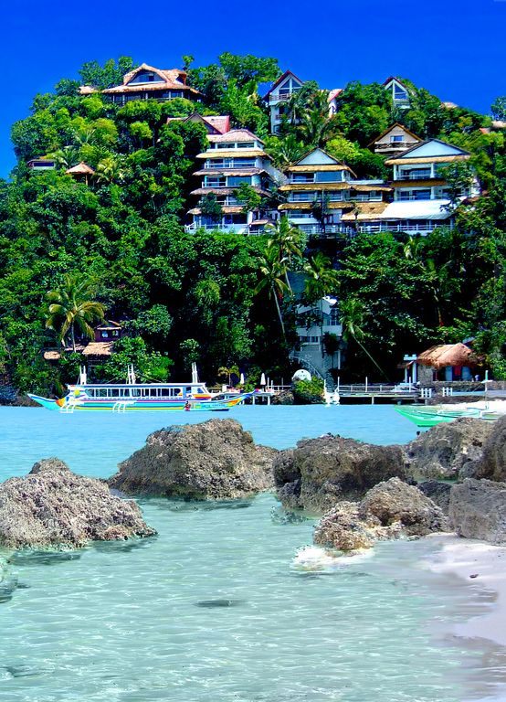 Boracay Island Philippines : -