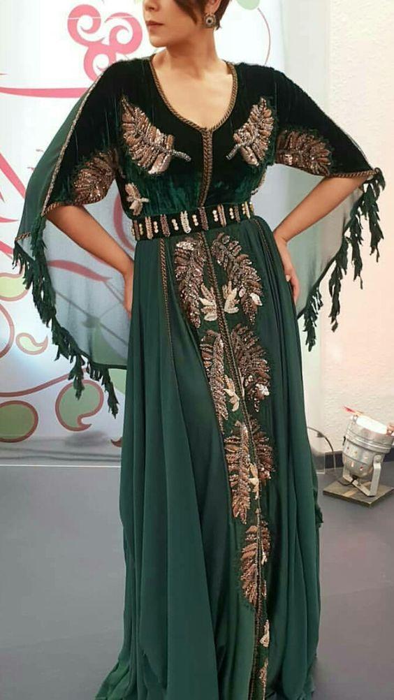 قفطان مغربي Caftan Marocain 2021 أجدد تشكيلة من قفطان مغربي Caftan Moderne Pour Jeune Fille Moroccan Dress Moroccan Fashion Morrocan Dress
