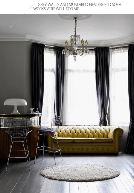 Best ideas about Yellow Chesterfield, Leather Chesterfield and Chesterfield Window on Pinterest