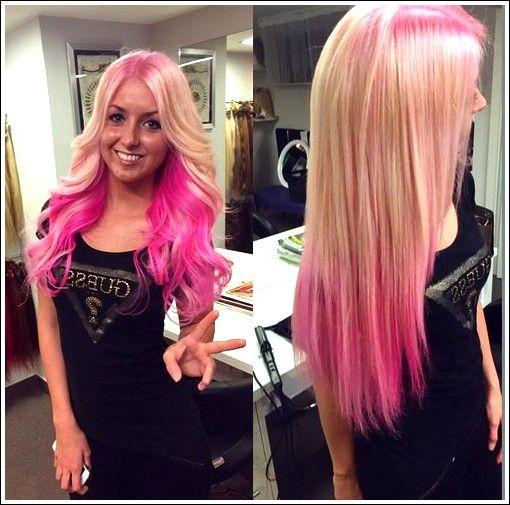 20 Trendy Pink Ombre Balayage Frisuren Die Sie Nicht Vermissen Sollten Beste Frisuren Rosa Haare Ombre Balayage Frisur Haar Styling