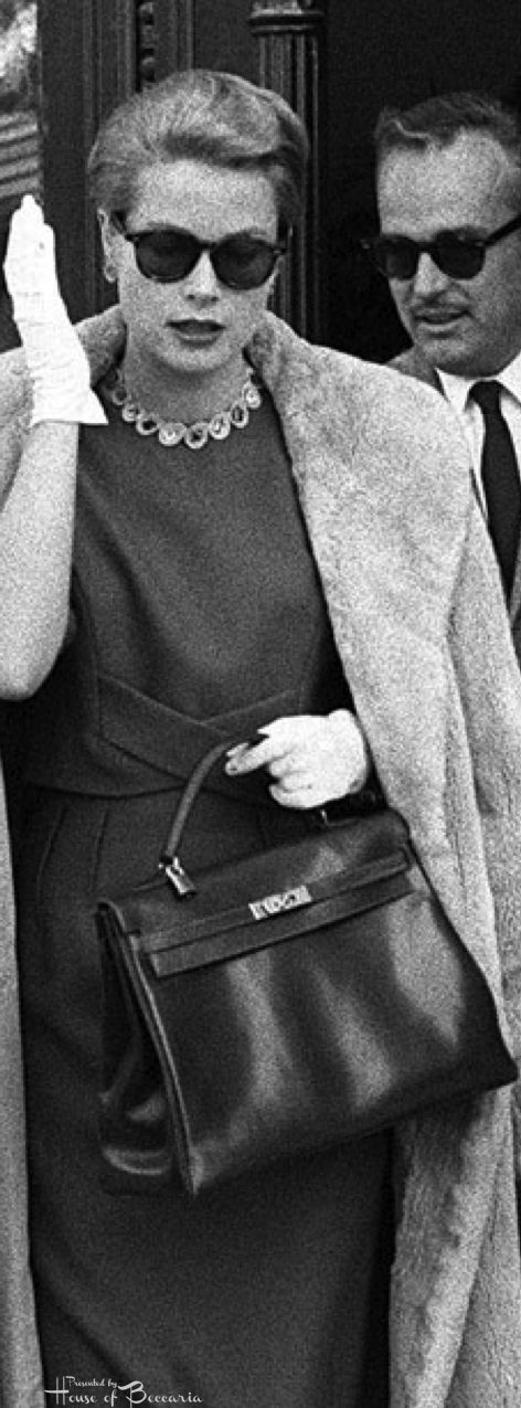 discount hermes bag - In 1956, a photo of Grace Kelly, (who had become the new Princess ...