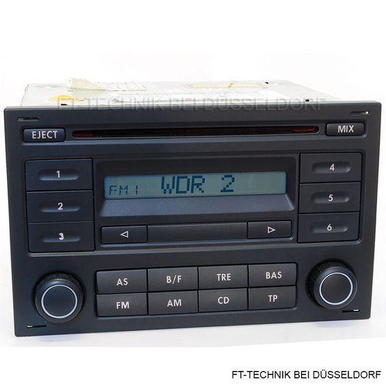 Ein VW CD Radio - RCD 200 mit CODE!  Passend für: - Golf 4 Bj 1997-2005  - Polo 4 Bj 2005-2009  - Lupo 1998-2000  - Fox 2005-2011  - Sharan 10/2005  In unserem Shop.