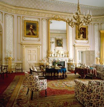 Windsor Castle - The Drawing Room, photographer Derry Moore, The Royal Collection copyright 2009 Her Majesty Queen Elizabeth II