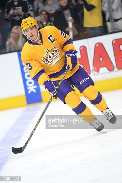 LOS ANGELES, CA - FEBRUARY 12: Dustin Brown #23 of the Los Angeles Kings skates on the ice before a game against the Calgary Flames at STAPLES Center on February 12, 2015 in Los Angeles, California. (Photo by Aaron Poole/NHLI via Getty Images)