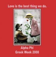 xoxo Awww...Alpha Phi Greek Week love! xoxo