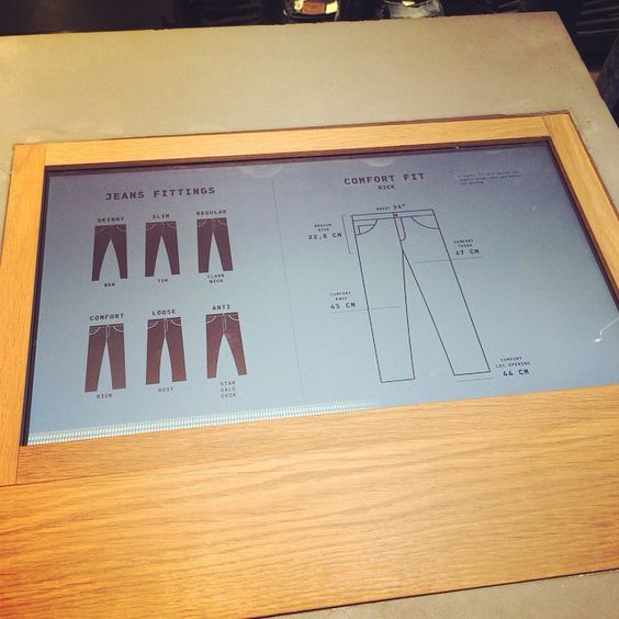 Problemsbychoosingjeansmodel? #check Jack&Jones #digital media #instore #digital media #retaildesign #risomdesign