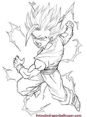 Imagenes Faciles Para Dibujar De Dragon Ball Z Para Pintar Paperblog Dragones Dibujo De Goku Goku Dibujo A Lapiz
