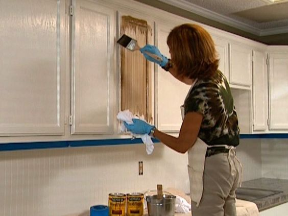Can You Apply Stain Over Crackle Glazed Paint