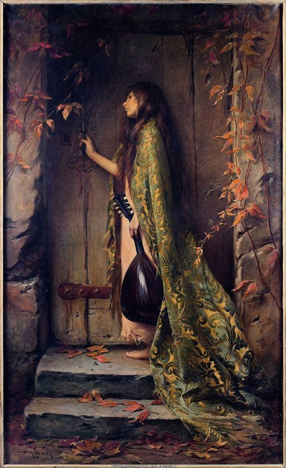 "silenceformysoul: "" Albert Joseph Pénot (1862-1930) - La Petite Cigale """