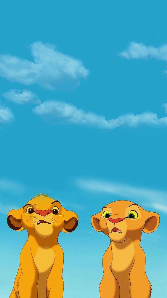 Simba & Nala (The Lion King)