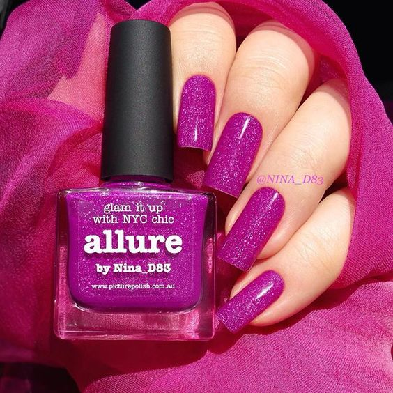 """Introducing NEW 'Allure' created by @nina_d83 WOWZA sending a big THANKS to Nina ❤️ Shop link in bio or www.picturepolish.com.au + we ship to selected countries or for international on-line stockists please see 'Network' "" Photo taken by @picturepolish on Instagram, pinned via the InstaPin iOS App! http://www.instapinapp.com (07/20/2015)"