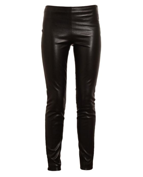 THE ROW Soft Leather Trousers