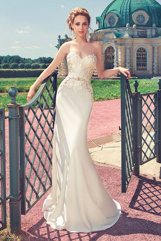 Attractive Lace wedding dresses