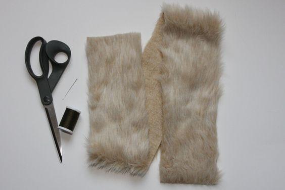 DIY in 5: Faux Fur Lined Hood