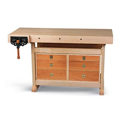 The Not-So-Big Workbench great for garage home use.