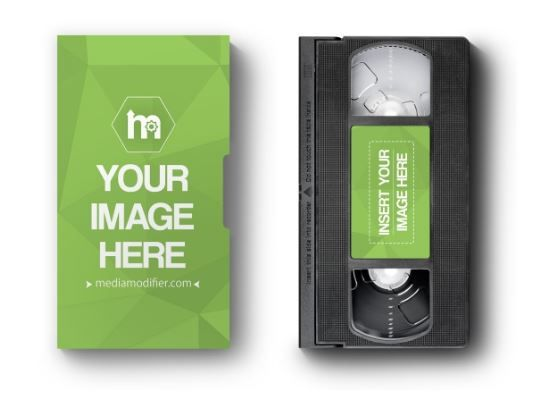 Download Vhs Cassette And Paper Case Mockup Generator Vhs Player Movie Products Video Tape Vhs Box Logo Image Mockup Temp Vhs Cassette Mockup Templates Mockup Generator