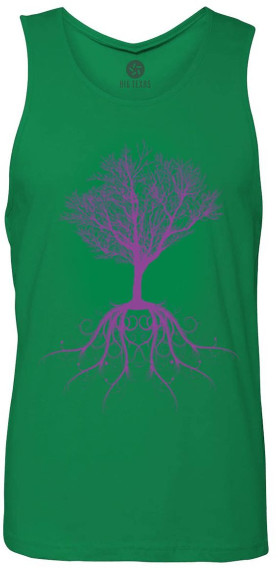 Tree of Life (Violet) Tank-Top T-Shirt