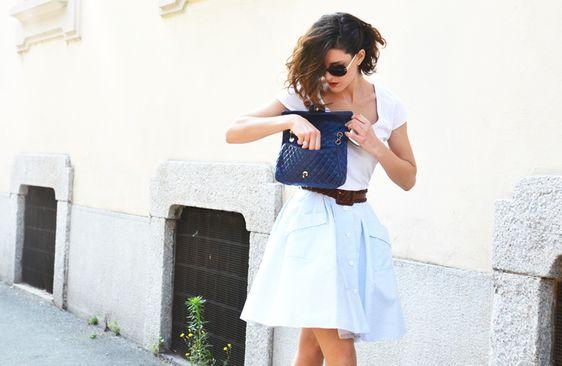 fuller, longer skirts for fall