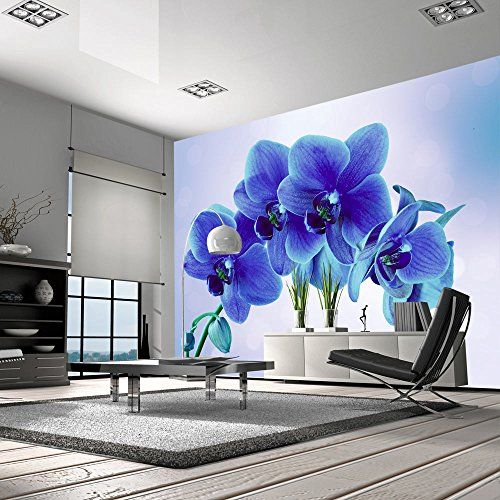 papier peint intiss top vente papier peint tableaux muraux d co xxl 350x245 cm fleurs. Black Bedroom Furniture Sets. Home Design Ideas