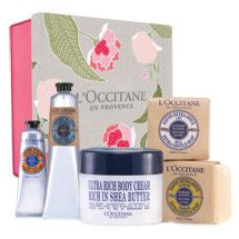 L'Occitane Shea Butter Foot and hand cream all year for fab toes and fingers!!