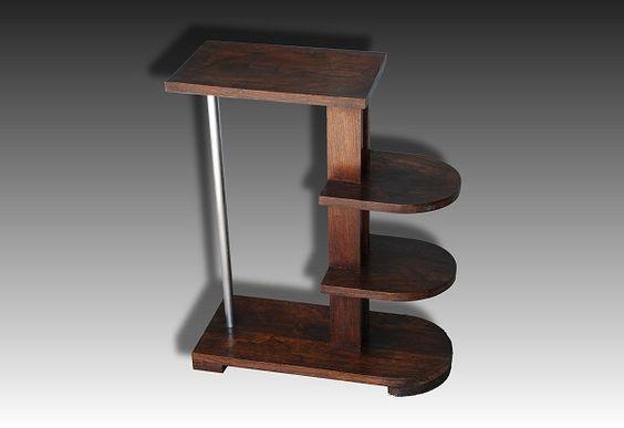 1930.fr Modernist Michel Dufet side table - Sold items - Art deco sculptures bronze clocks vases