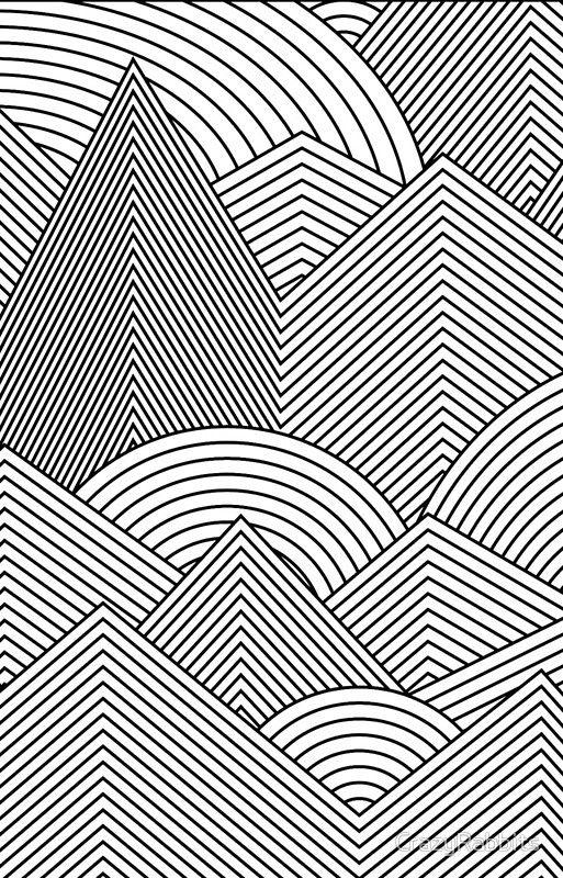 Line Art Wall Art Iphone Case Cover Geometric Design Art