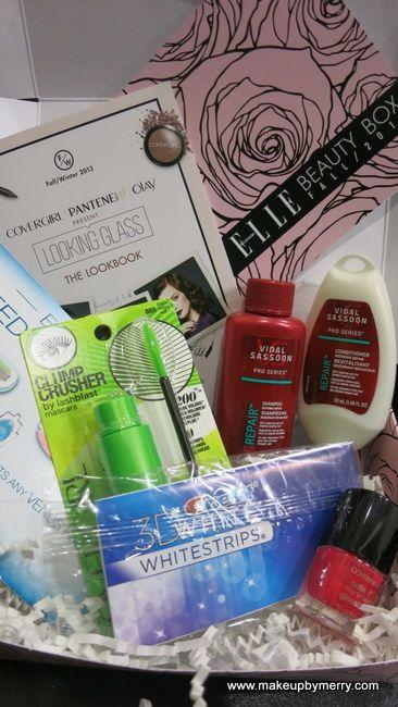 ELLE Canada – Beauty Box Fall 2013