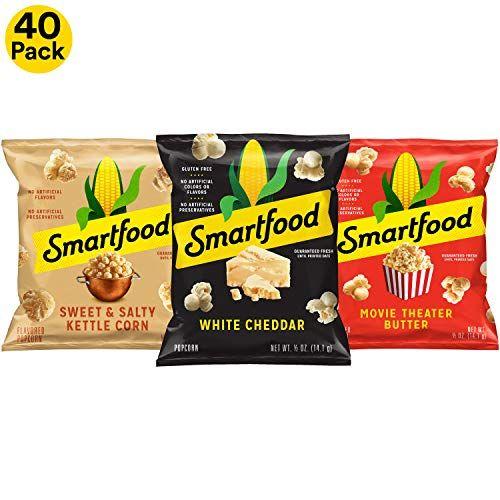 Smartfood Sweet Salty Kettle Corn Flavored Popcorn Flavored Popcorn Smartfood Popcorn Flavor Variety