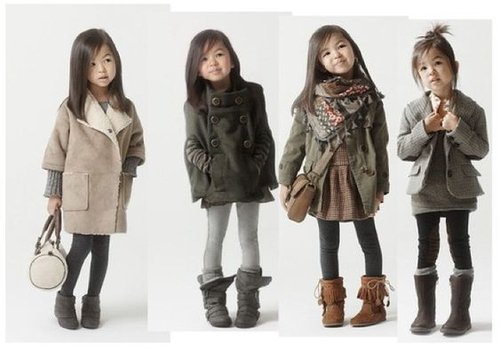Cool little girl style