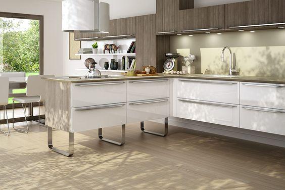 Chambre Romantique Rose Et Blanc : Cuisine Eyre  Lapeyre  Kitchen  Pinterest  Cuisine