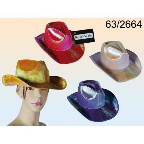Cappello Cow Boy iridescente 6