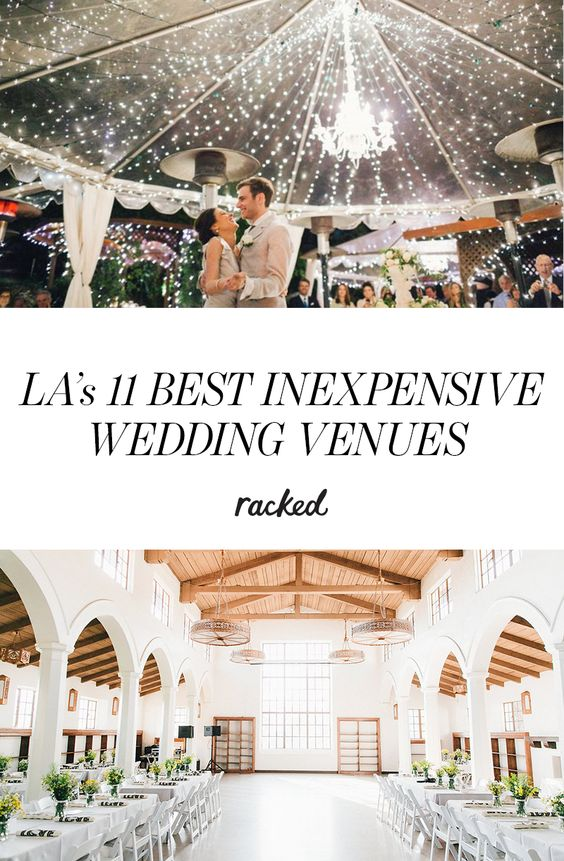 29 outstanding cheap wedding venues in los angeles