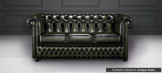 Ellington sofa by Saxon Leather £849